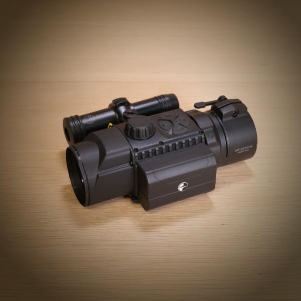 Pulsar FN455 mit Laserluchs und Adapter